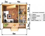Проекти за сауна със стая за релакс и тераса