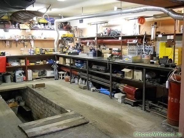 Организация на работното пространство в гаража