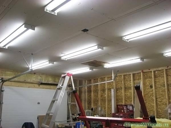 Осветление на гараж