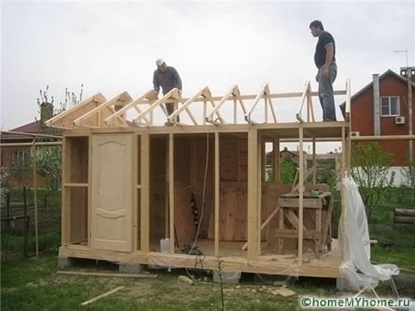 Изграждане на кокошарник