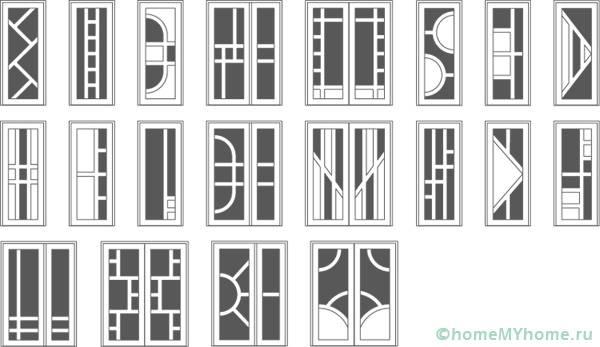 Разнообразие от опции за пълнене на стъкло