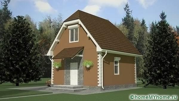 Компактна къща
