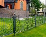 Огради и бариери за къщата: снимка