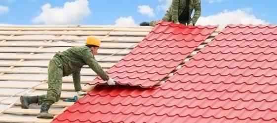 Размери на ламаринен покрив: цена