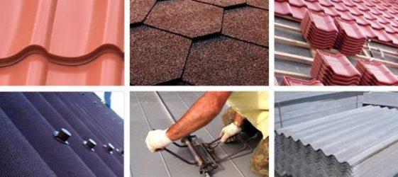 Покривни материали за покрива: видове и цени