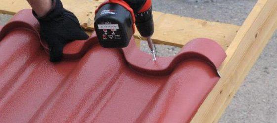 Монтаж на метални плочки: инструкции стъпка по стъпка
