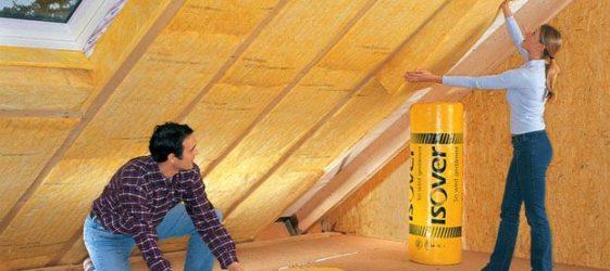 Изолация на тавана отвътре, ако покривът вече е покрит
