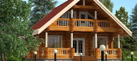 Проекти от дървени къщи