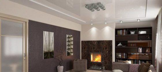 Опънати тавани за снимката на залата