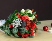 Направи си сам новогодишен букет