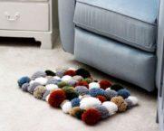 Направи си сам помпонен килим