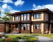 Къщи от вертикална лента
