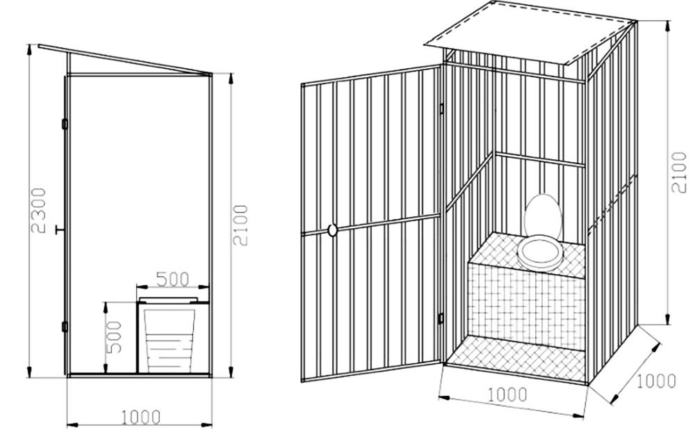 Вариант на класическата кабина за птици