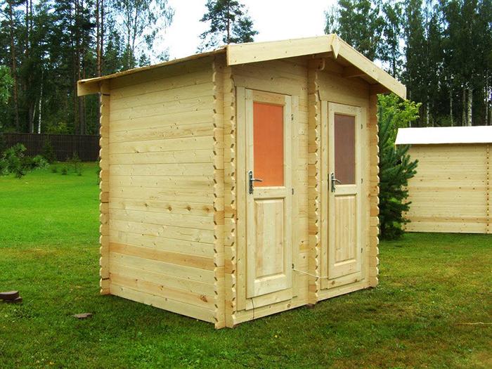 Често срещан вид материал за такива конструкции е естественото дърво.