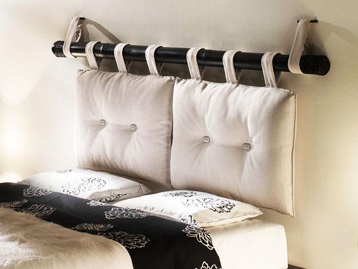 Предимството на тази табла е, че калъфките за възглавници се перат лесно. Ако сте уморени от цветовете, просто го сменете с друг