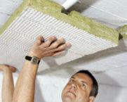 Направи си сам таван шумоизолация в апартамент