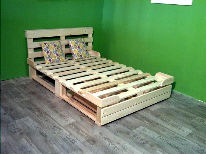 Specjalne odbojniki na krawędziach łóżka utrzymają materac