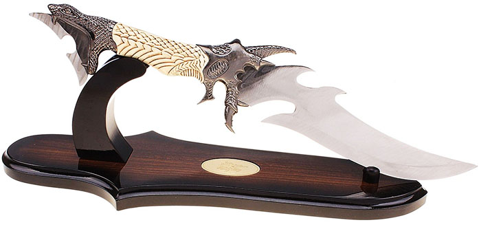 Интересна опция за съхранение на ловни ножове и ками
