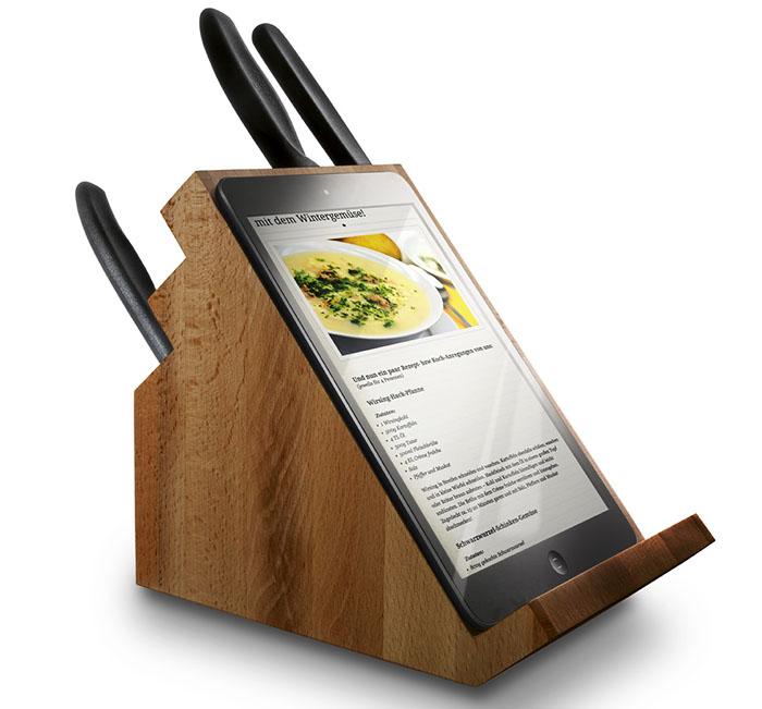 Вместо дъска за рязане на стойка е подходящо да използвате съвременни джаджи за видео комуникация.